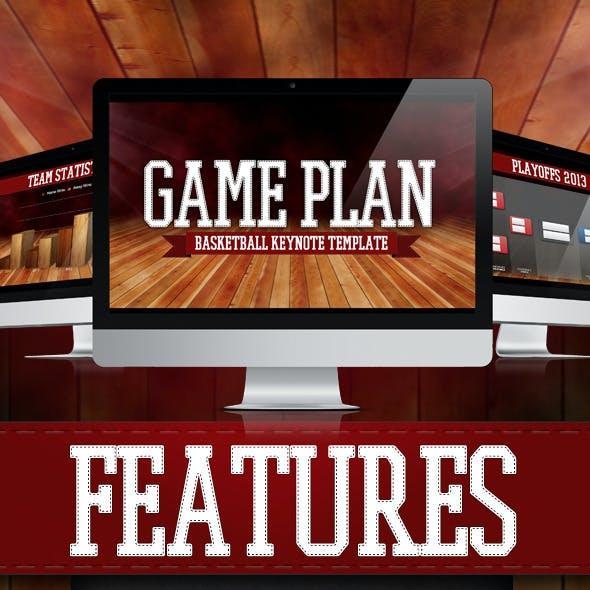 GAME PLAN - Basketball Keynote Template
