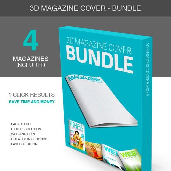 3D Magazine Cover - Bundle