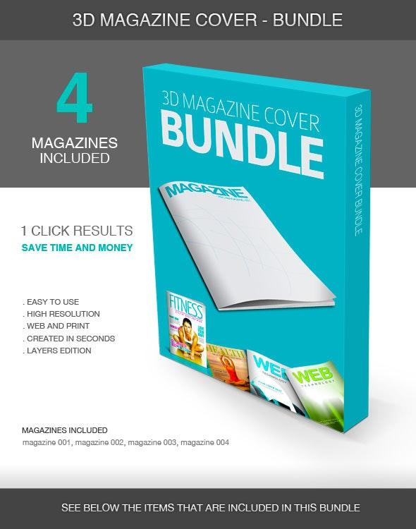 3D Magazine Cover - Bundle - Utilities Actions