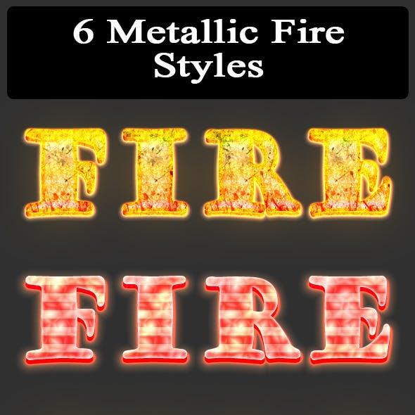Metallic Fire Styles