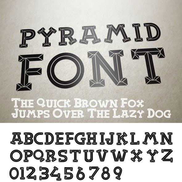 Pyramid Font