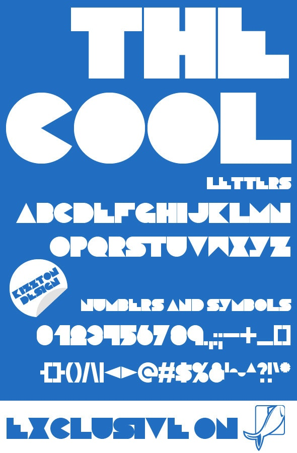 The Cool Premium Font - Cool Fonts