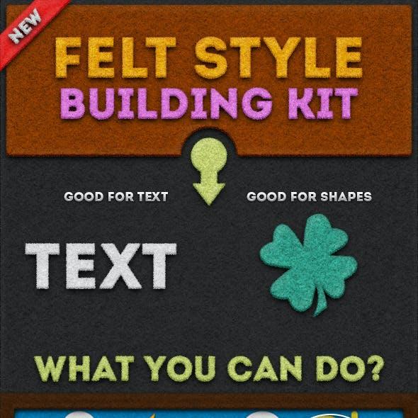 Felt Style Building Kit
