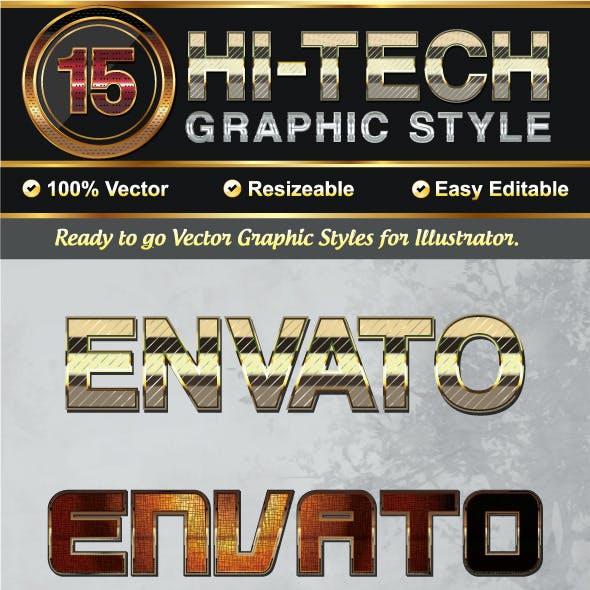 Hi_Tech Metallic Graphic Styles