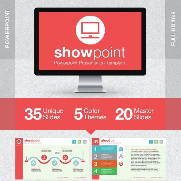 ShowPoint Powerpoint Presentation Template