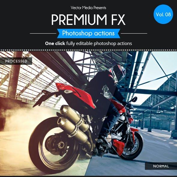 Premium FX - Actions [Vol.8]