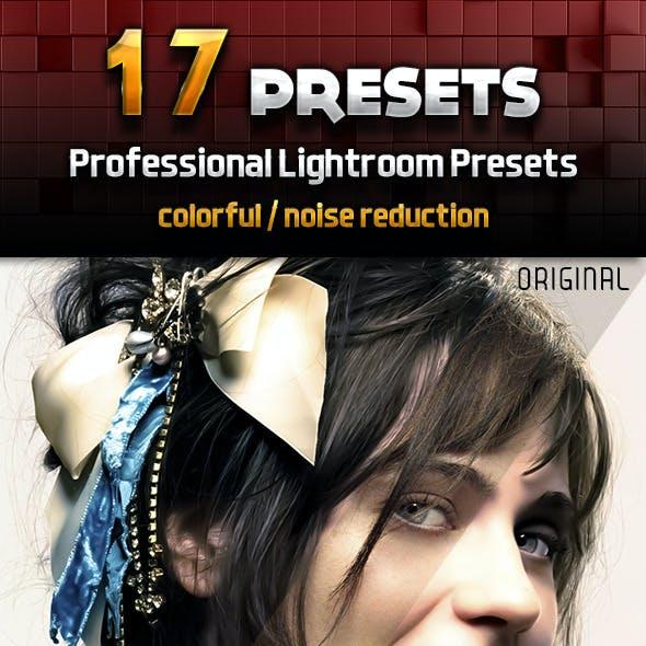Professional Lightroom Presets