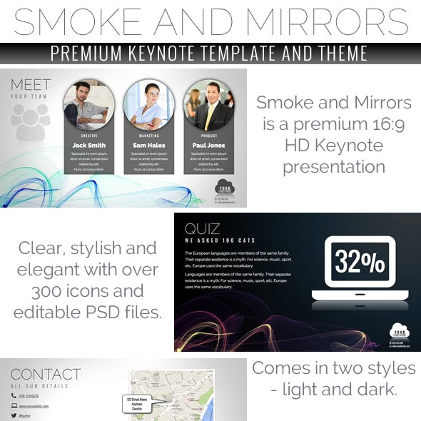 Slick Keynote Templates from GraphicRiver