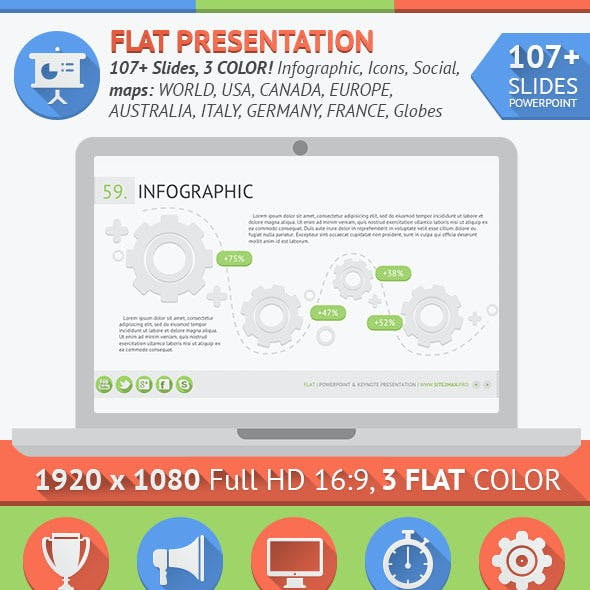 Flat PowerPoint