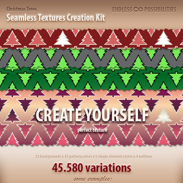 Christmas Trees Textures Creation Kit