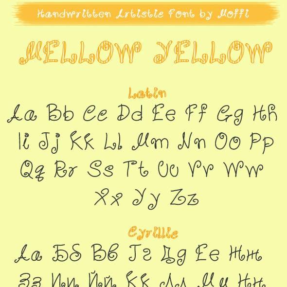 Mellow Yellow Artistic TTF