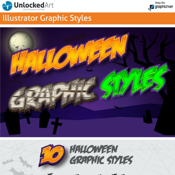 Halloween Graphic Styles
