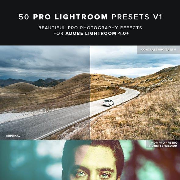 50 Pro Lightroom Presets V1