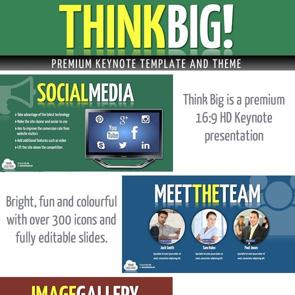 Think Big Keynote Presentation