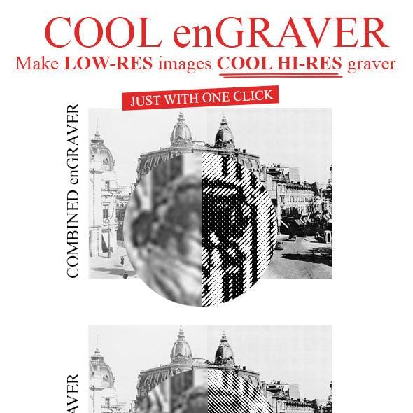 enGraver - Make LOW-RES images in HI-RES enGRAVER
