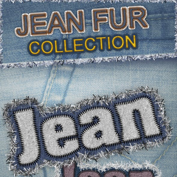Creative Reality Furry Jean