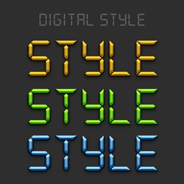 Digital Styles