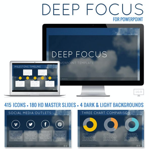 Deep Focus Powerpoint Presentation Template