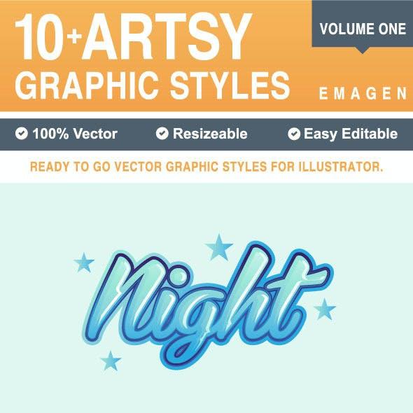 10+ Artsy Graphic Styles
