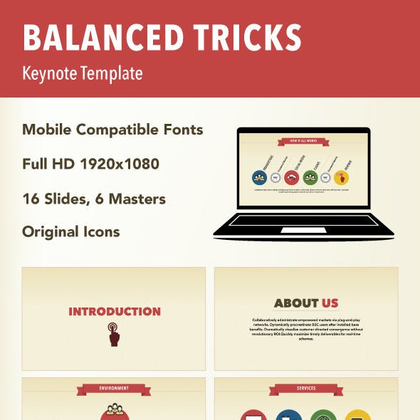 Balanced Tricks Keynote Template