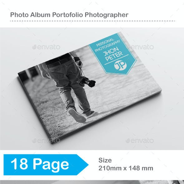 Photo Album Portofolio Photographer