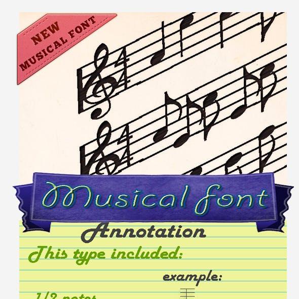 Musician Font