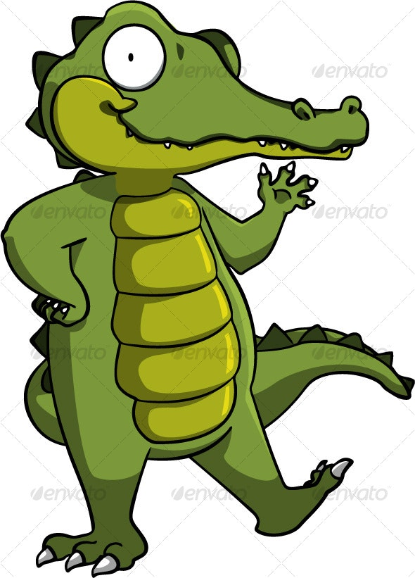 Alligator - Animals Characters