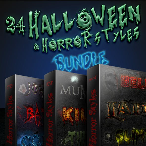 Halloween And Horror Styles - Bundle