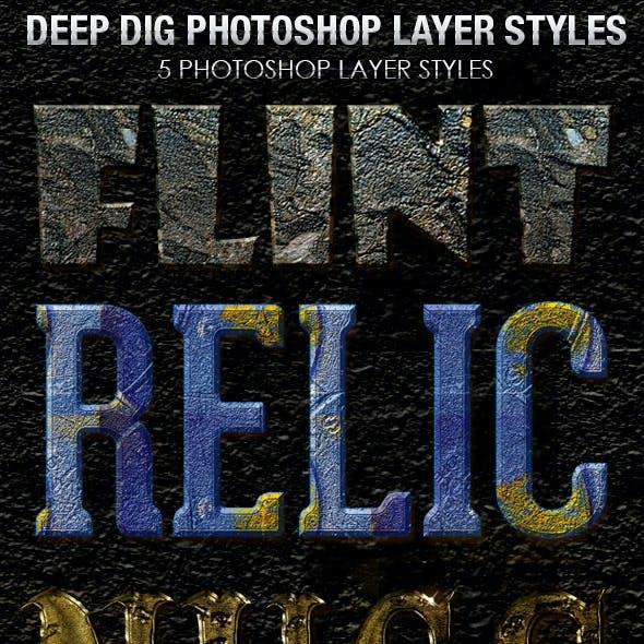 Rock Photoshop Layer Styles