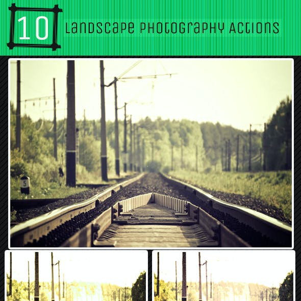 10 Grungy Landscape Photography Actions