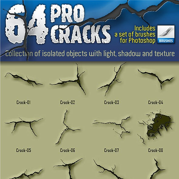 64 Pro Cracks (Bitmap version)