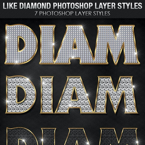 Like Diamond Photoshop Layer Styles