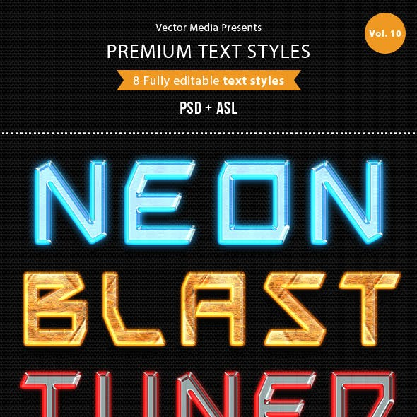 Premium Text Styles - Vol.10