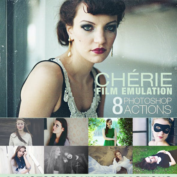 HQ Film Emulation Actions I