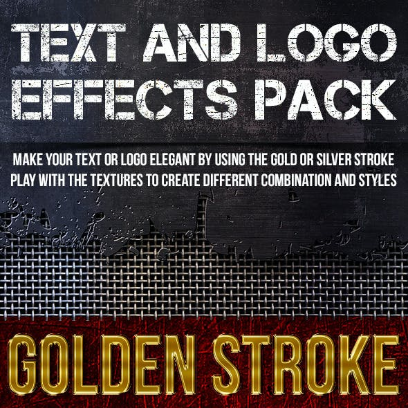 Text and Logo - Effects Pack