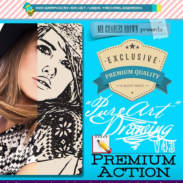 Pure Art Hand Drawing 43 – Fashion Vector Outline