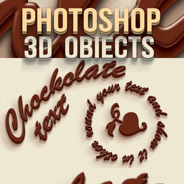 Chocolate Text Creator 3D
