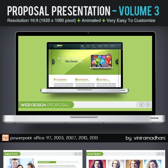 Project Proposal Presentation   Volume 3