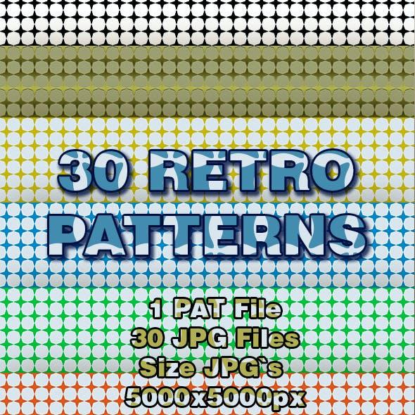 30 Retro Patterns
