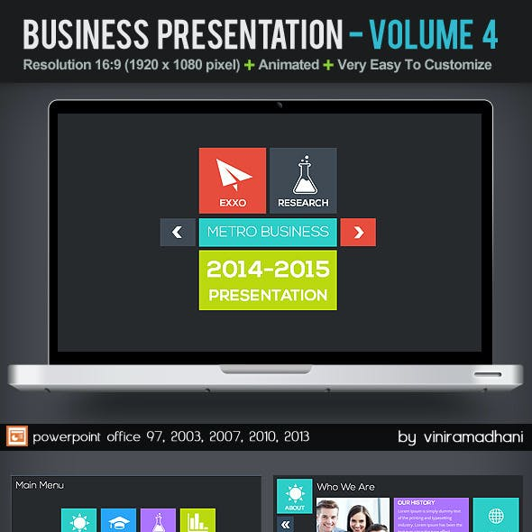 Business Presentation | Volume 4