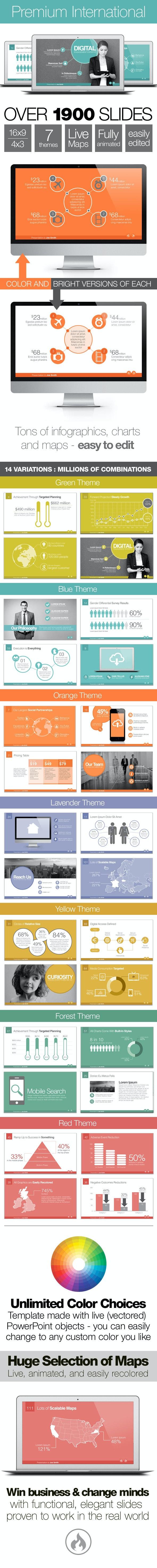Premium International Template System - Business PowerPoint Templates