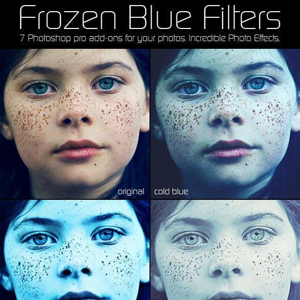 Frozen Blue Filters