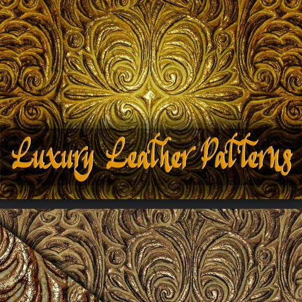 Luxury Decorative Leather Patterns