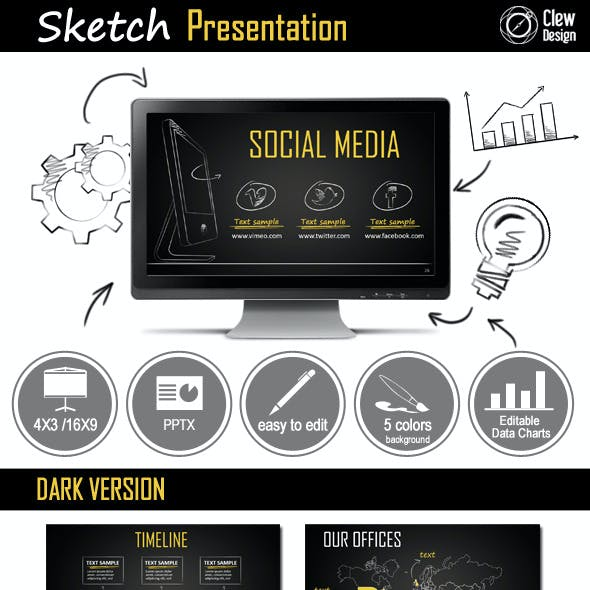 Sketch Powerpoint Presentation