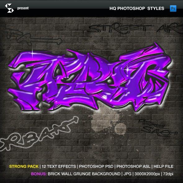 Urban Graffiti Text Effects