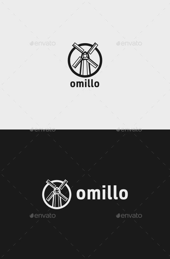 Omillo Logo - Buildings Logo Templates