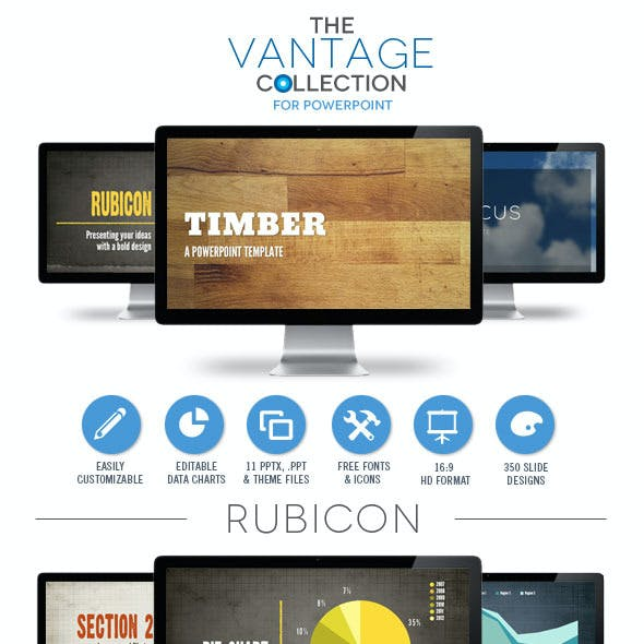 Vantage Collection Powerpoint Template Bundle