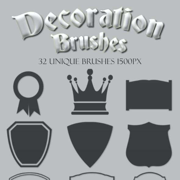 Decoration Brushes