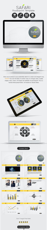 Safari Powerpoint Presentation Template