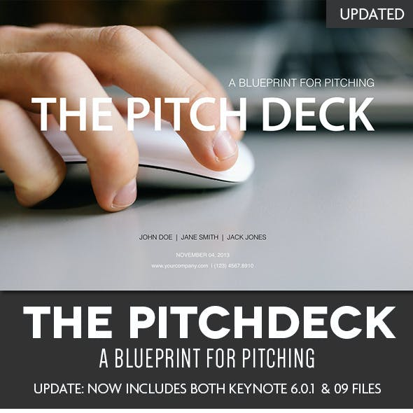 The Pitch Deck - A Keynote Template